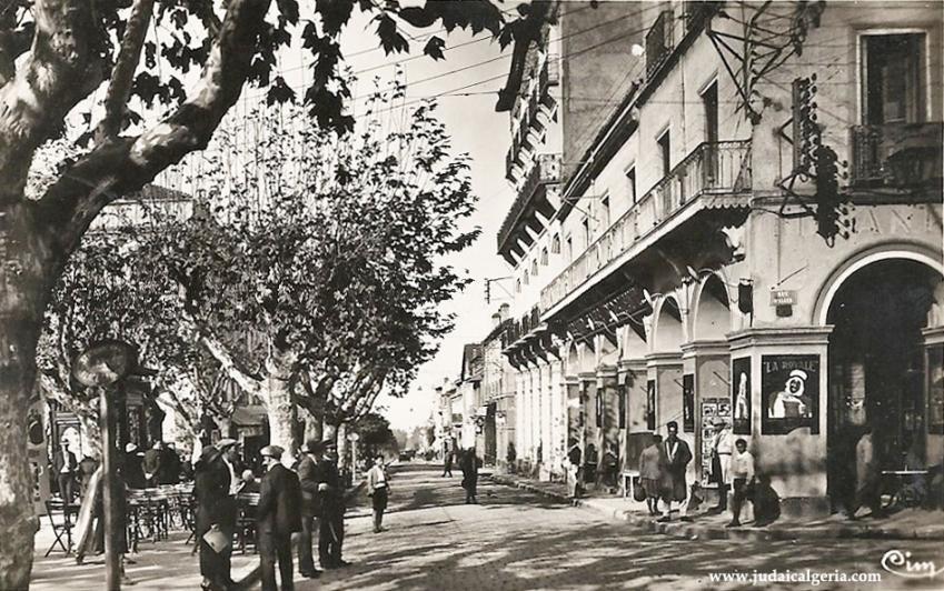 Blida rue d alger et l hotel d orient