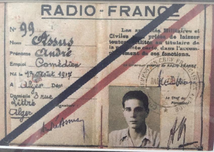 Carte radio france andre assus