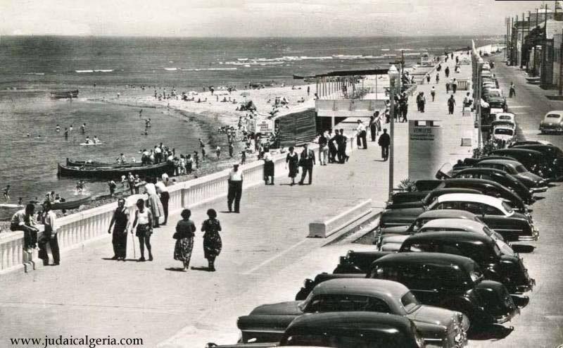 Castiglione boulevard de la plage