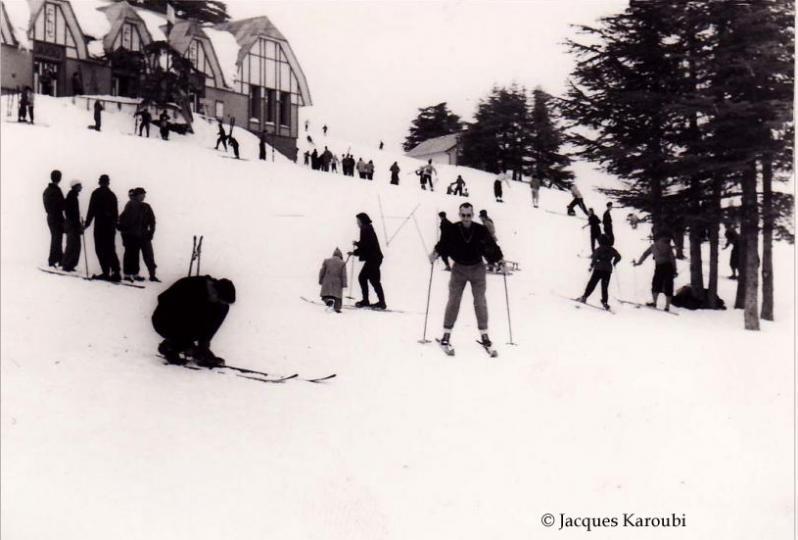 Chrea2 skieur sur la piste du ski clu