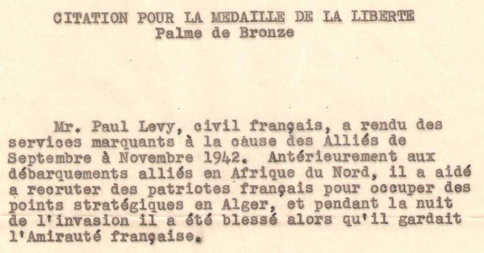 Citation medaille liberte extrai