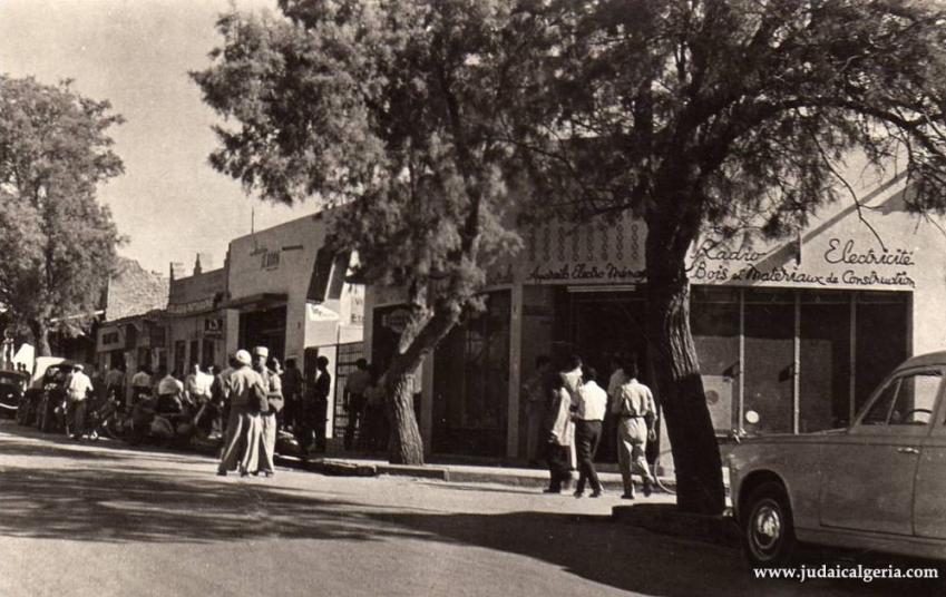 Colomb bechar rue principale 1950