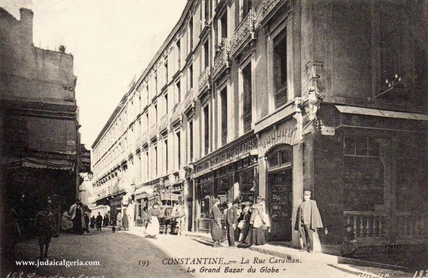 Constantine grand bazar du globe