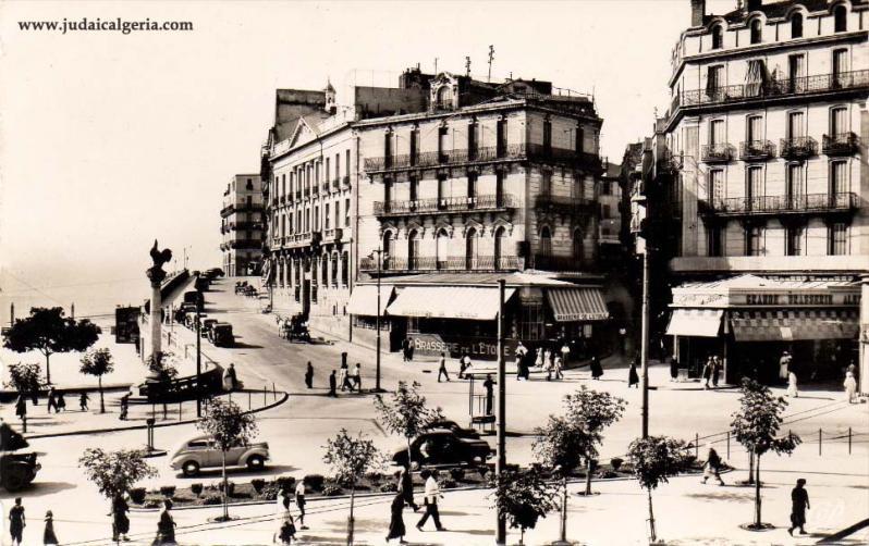 Constantine la rampe de l hotel de ville