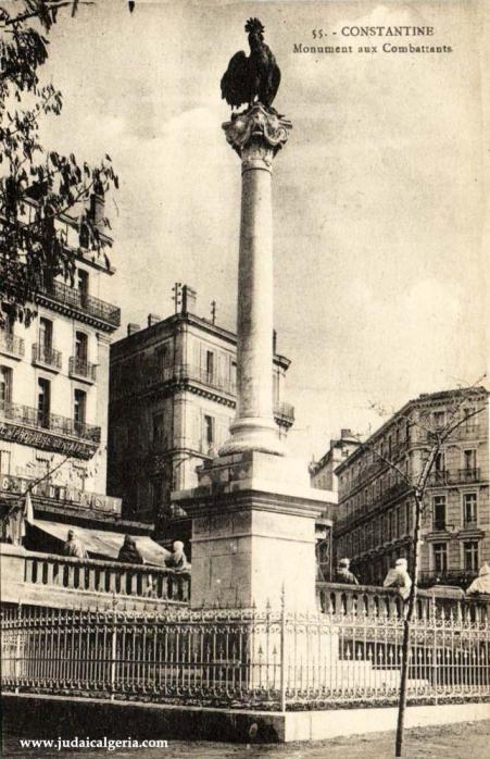 Constantine monument aux combattants