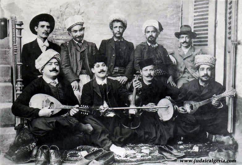 Constantine musiciens juifs 1