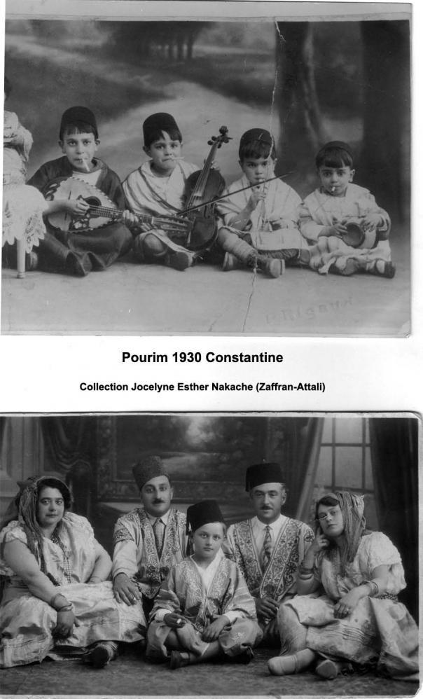 Constantine pourim 1930