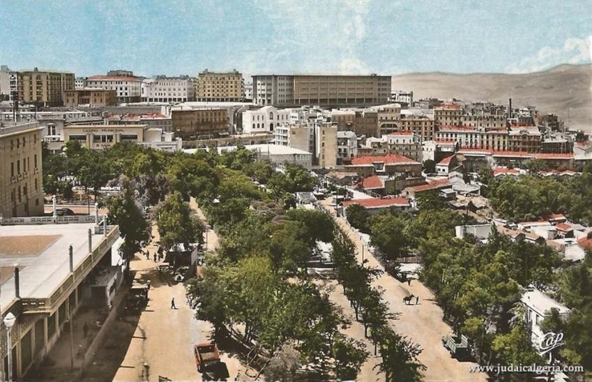 Constantine quartier saint jean et nouveau lycee