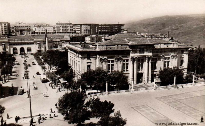 Constantine rue pierre liagre et palais de justice