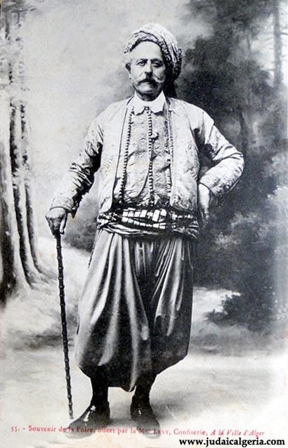 Costume d homme alger 1890
