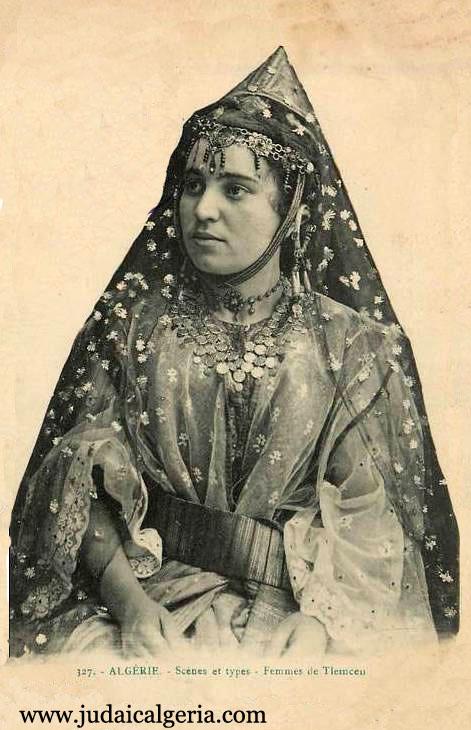 Costume femme de tlemcen