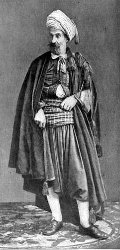 Costume juif algerien 1903