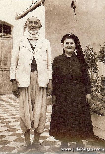 Couple juif de marnia