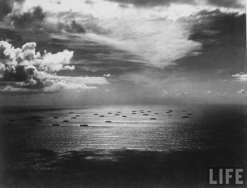 Debarquement allie nuit du 7 au 8 novembre 1943