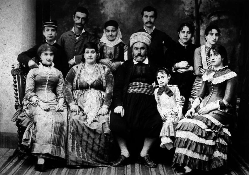 Famille juive d algerie xix e siecle 1