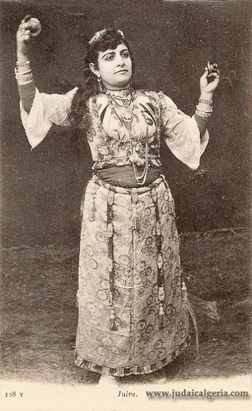 Femme juive d algerie