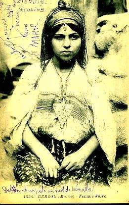 Femme juive de debdou