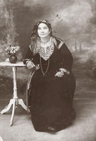Femme juive de ghardaia