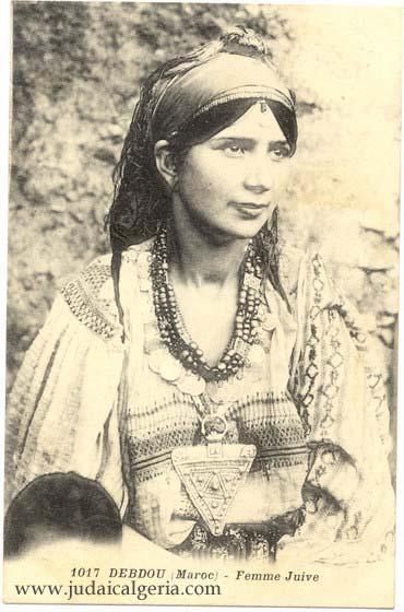 Femme juive debdou