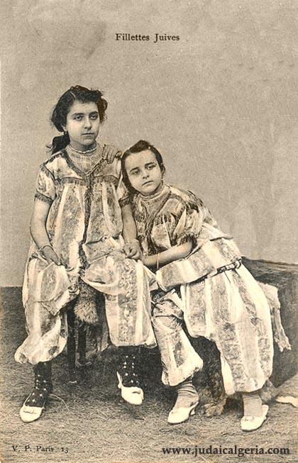 Fillettes juives vers 1900