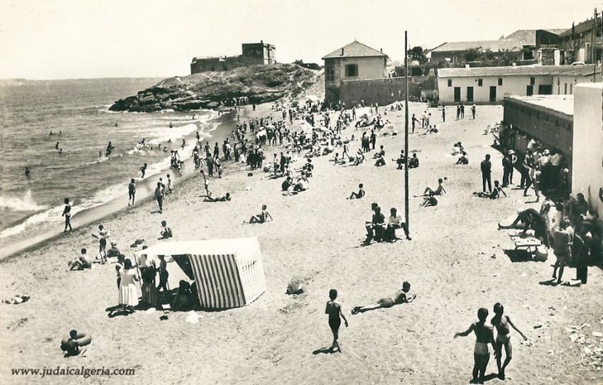 Fort de l eau la plage de la sirene