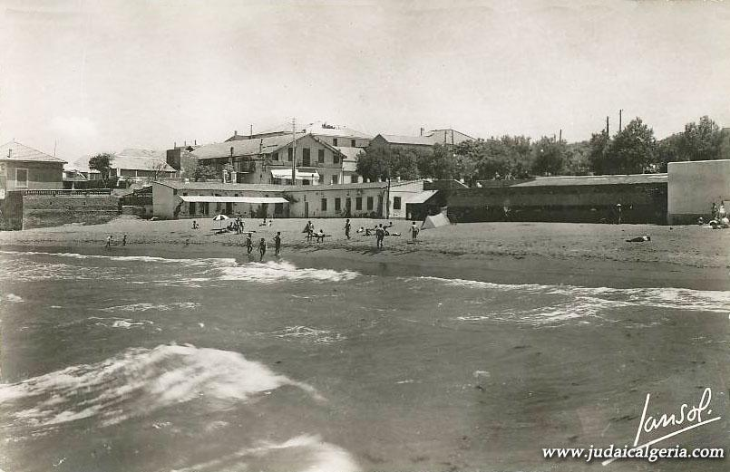 Fort de l eau la plage en 1958