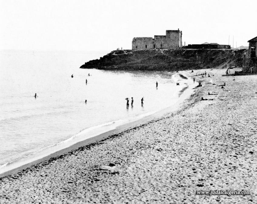 Fort de l eau la plage