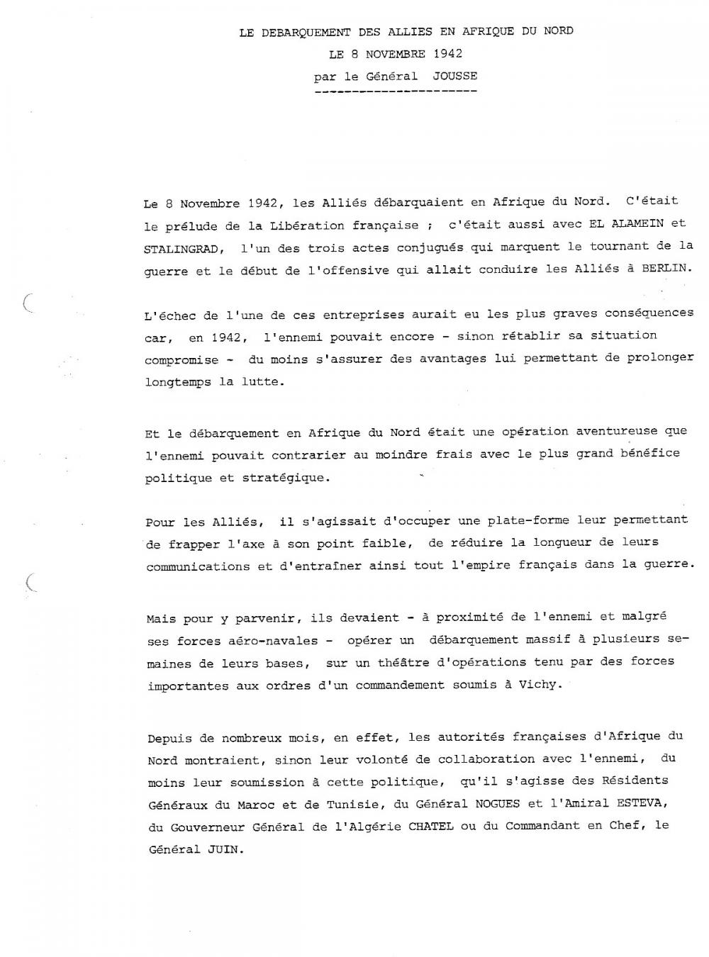 General jousse page 1