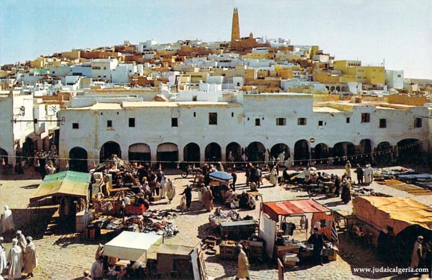 Ghardaia place du marche