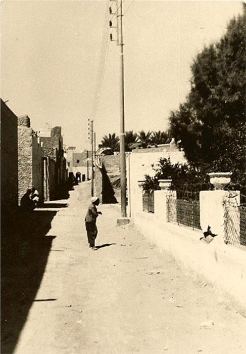 Ghardaia quartier juif rue de djerba