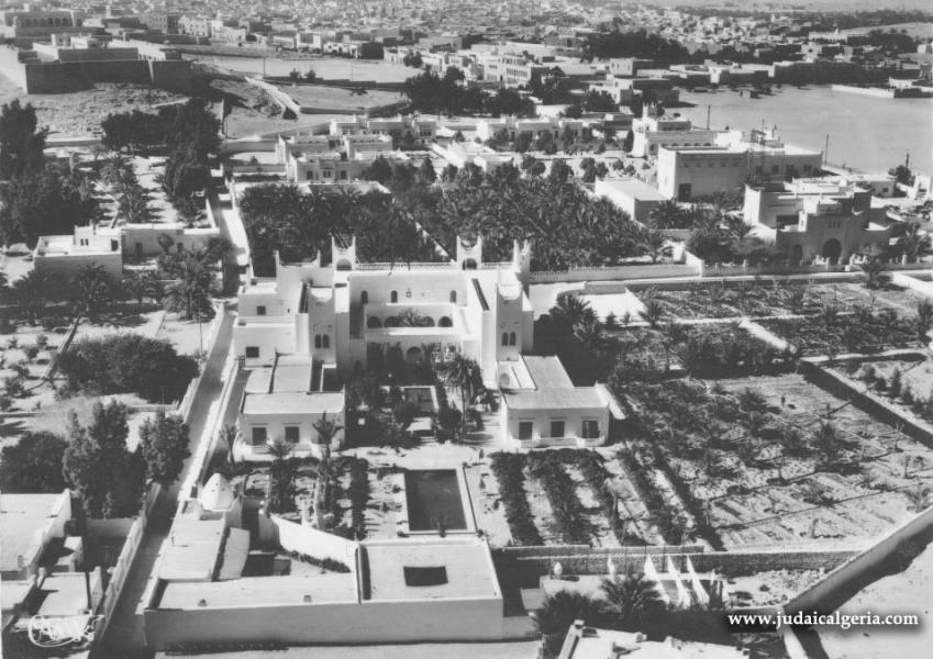 Ghardaia vue aerienne oasis vallee du mzab 1