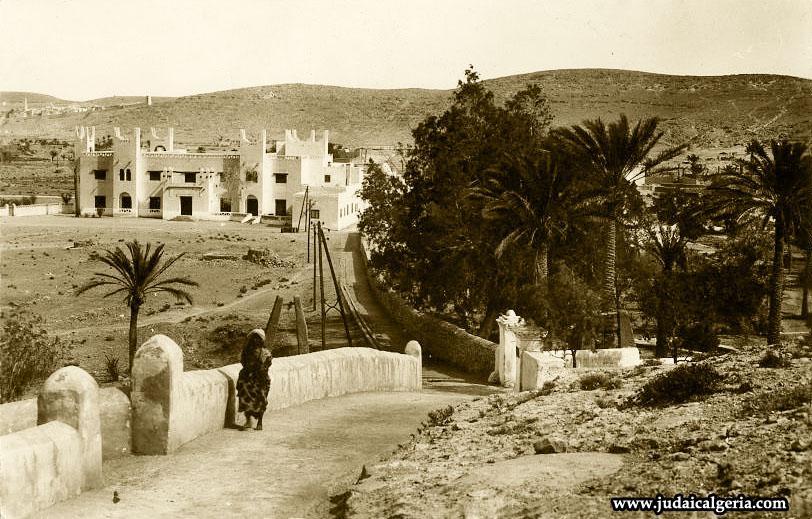 Ghardaia vue sur l hotel transatlantique