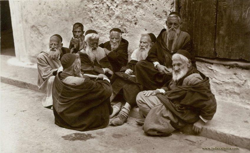 Groupe hommes juifs d algerie 1930