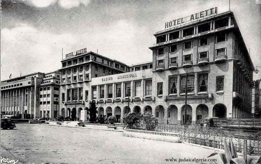 Hotel aletti et la prefecture