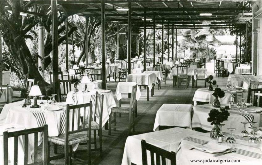 Hotel saint georges terrasse du restaurant