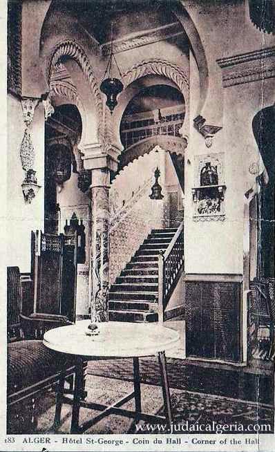 Hotel saint goerges un coin du hall