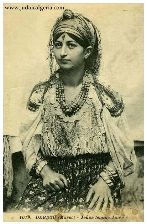 Jeune femme juive de debdou