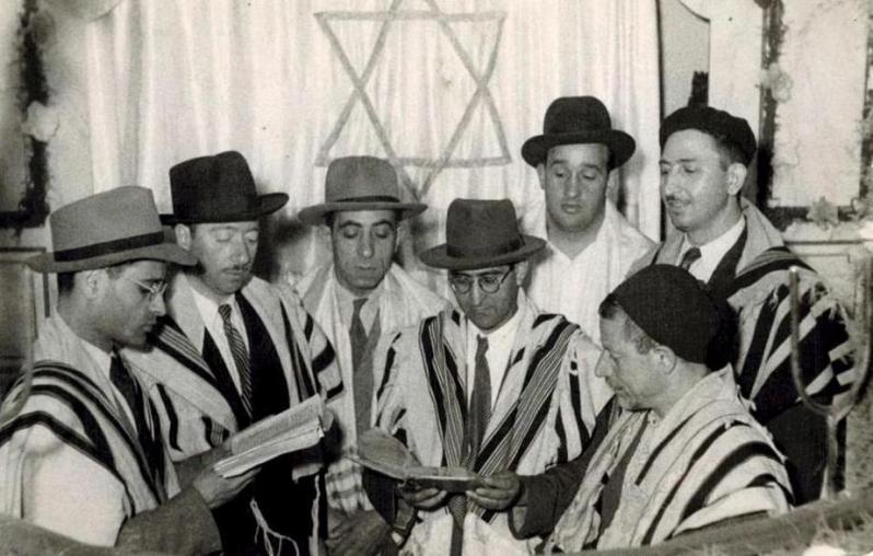 Jeunes rabbins de constantine dans la fin des annees 50
