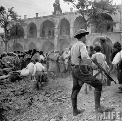John philips garde arabe juifs refugies 1948