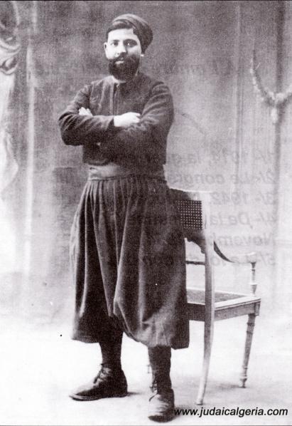 Juif en costume de zouave guerre 1914 1918