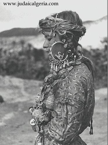 Juive berbere de la region de taza