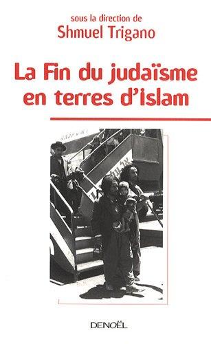 La fin du judaisme en terre d islam couverture