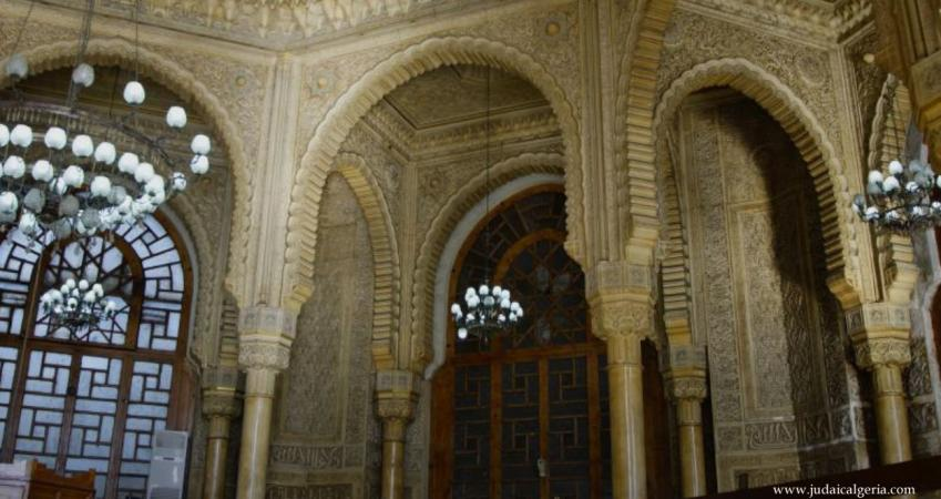 La grande poste detail d'architecture neo-mauresque