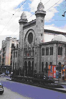 La grande synagogue d oran 1956