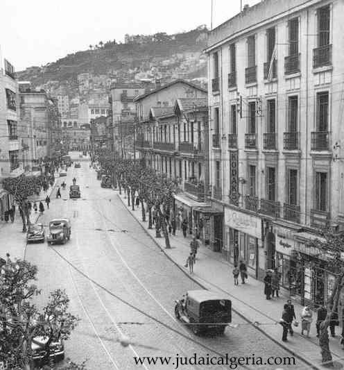 La rue de lyon en 1956