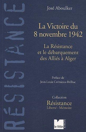 La victoire du 8 novembre couverture 1
