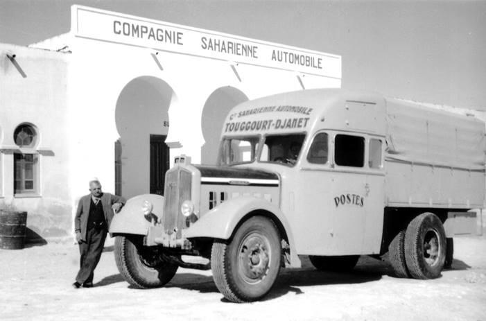 Le car de la poste de togghourt a djanet