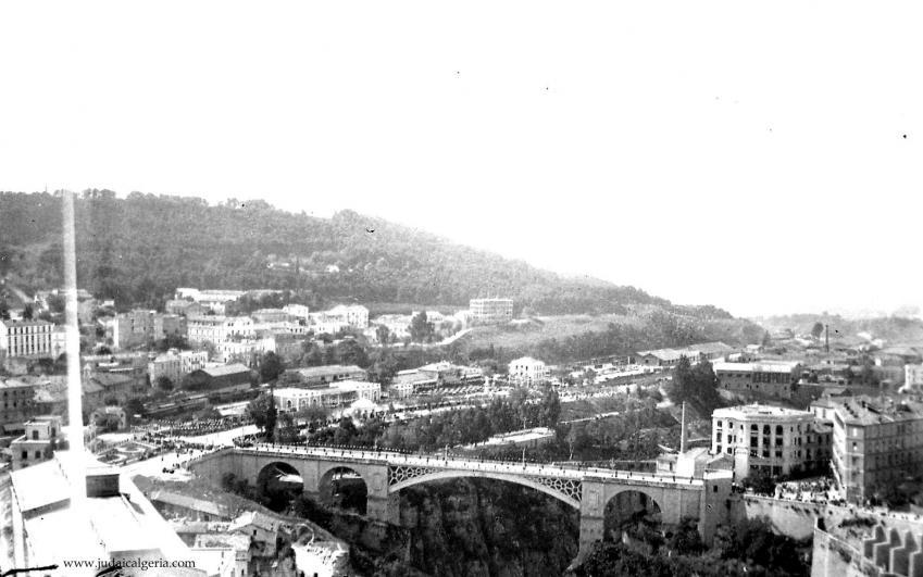 Le pont el kantara 1937
