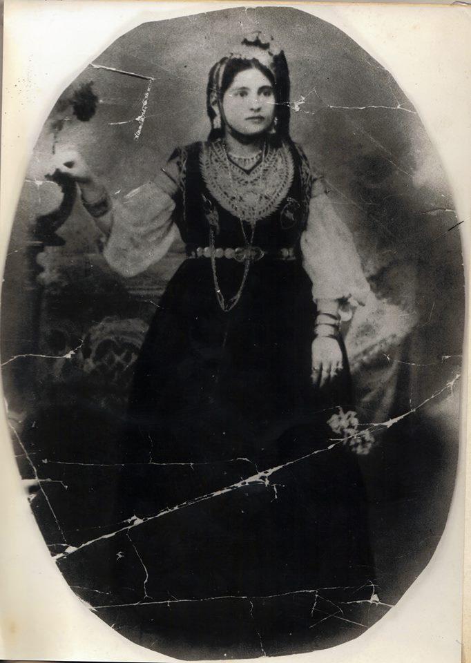 Ma grand mere en 1901