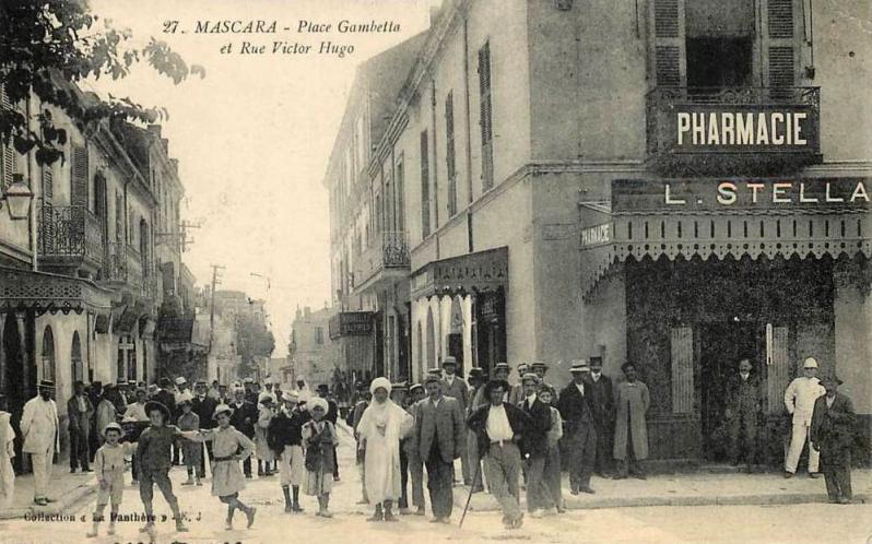 Mascara place gambetta rue victor hugo
